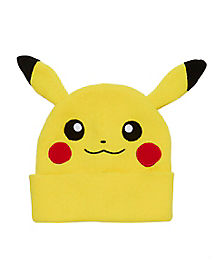 Yellow Pikachu Beanie Hat - Pokemon
