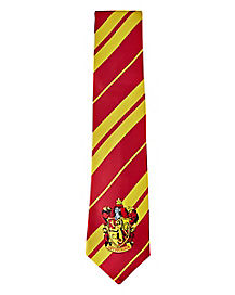 Gryffindor Tie Deluxe - Harry Potter