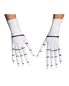 Jack Skellington Gloves - Nightmare Before Christmas