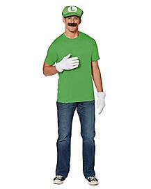 Luigi Costume Kit - Mario Bros