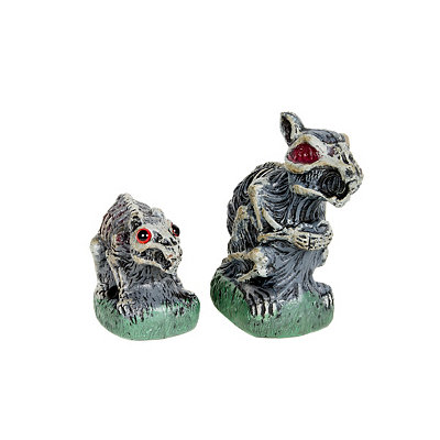 2 Pack Zombie Garden Rodents