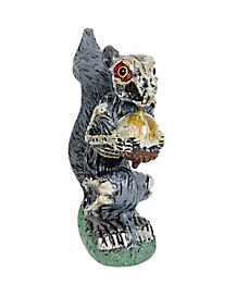 10 Inch Zombie Squirrel - Decorations