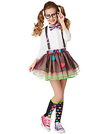 Girls School Nerd Tutu