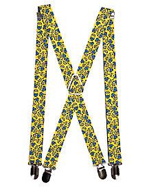 Minion Face Suspender
