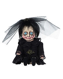 Mini Mourning Bride Doll