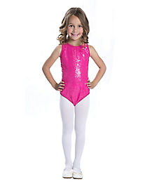 Sequin Pink Girls Bodysuit