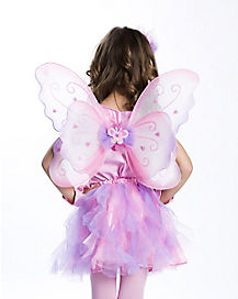 Pastel Child Butterfly Wings