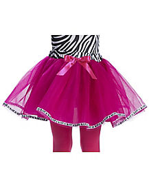 Girls Zebra Tutu