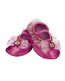 Kids Princess Aurora Slippers - Sleeping Beauty