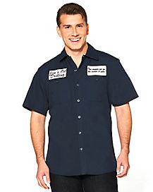 Jim's Oil Adult Work Shirt
