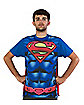 Subliminal Caped DC Comics Superman T- shirt