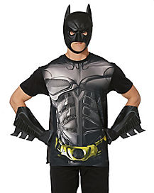 Caped Dark Knight Costume T-Shirt- Batman The Dark Knight