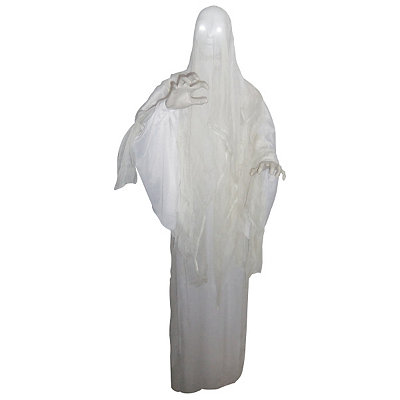 5' Animated Hanging Ghost Lady Decoration