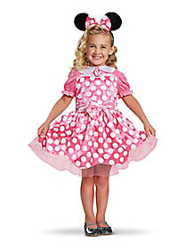 Disney Pink Minnie Mouse Ballerina Toddler Costume