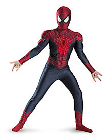 Spiderman Muscle Light-Up Boys Costume