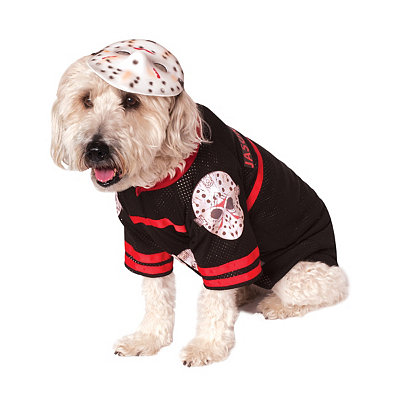 Jason Voorhees Dog Costume - Friday the 13th