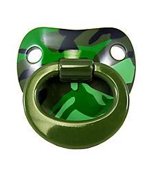 Green Camo Pacifier
