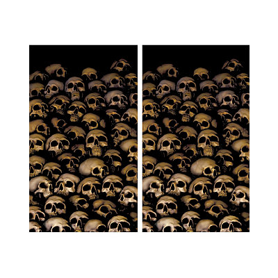 Skull Catacombs Double Window Poster