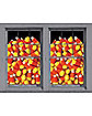 House of Candy Corn Double Window Poster - Decorations