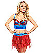 Supergirl Long Line Bra - Superman