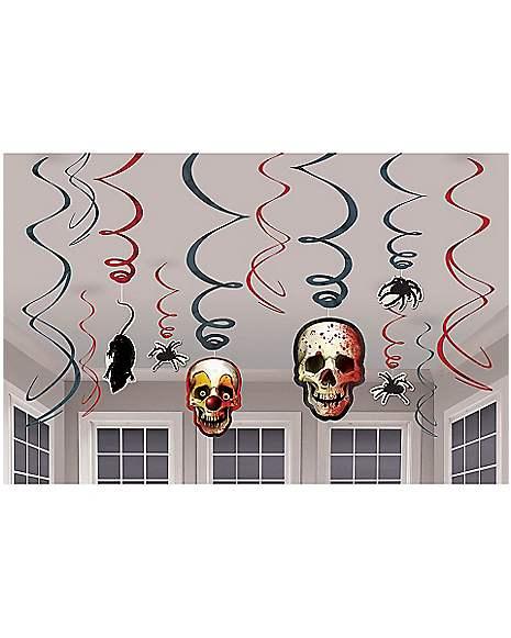 Spirit Halloween Wall Decor : Creepy carnival swirls spirithalloween