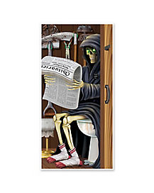 Grim Reaper Door Cover - Decorations