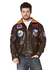 Top Gun Bomber Jacket Adult Costume