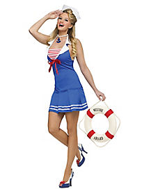 Anchors Away Adult Womens Costume