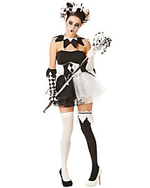 Twisted Jester Adult Womens Costume