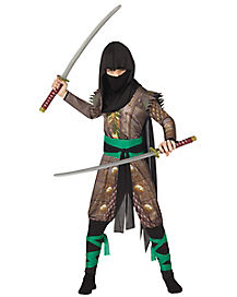 Kids Warrior Ninja Costume