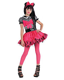 Kids Draculaura Costume Deluxe - Monster High
