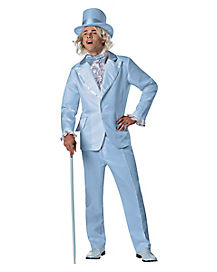 Adult Blue Tuxedo Costume - Dumb and Dumber