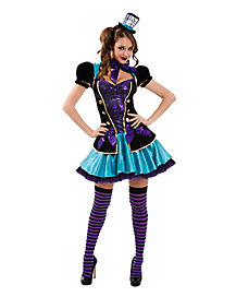 Adult Mad Hatter Costume - Alice In Wonderland