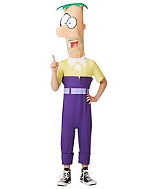 Kids Ferb Costume - Phineas and Ferb