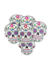 Sugarskull Coasters