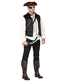 Rustic Pirate Mens Costume