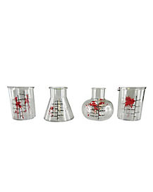 Bloody Chemistry Shot Glass 4-Pack