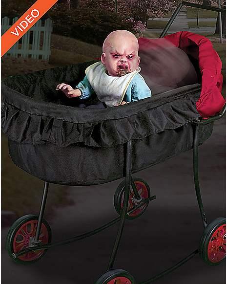 2 Ft Possessed Baby Animatronics Decorations