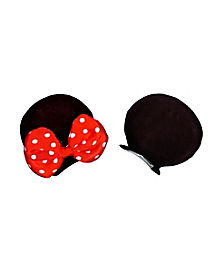 Minnie Mouse Ears Hair Clips - Disney