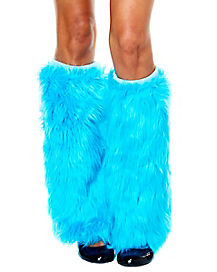 Thing 1 and 2 Furry Leg Warmers - Dr Seuss