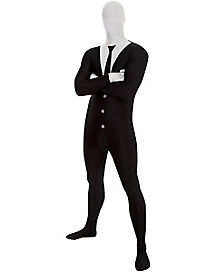 Adult Slenderman Skin Suit Costume