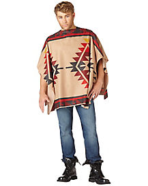 Adult Daryl Dixon Poncho - The Walking Dead