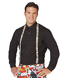 Comic Book Suspenders