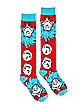 Thing 1 and Thing 2 Knee High Socks - Dr Seuss