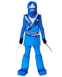 Kids Blue Ninja Fighter Costume