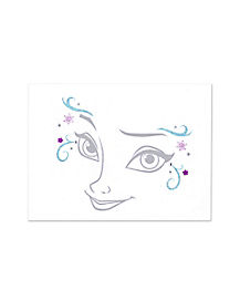 Elsa Facial Decal - Frozen