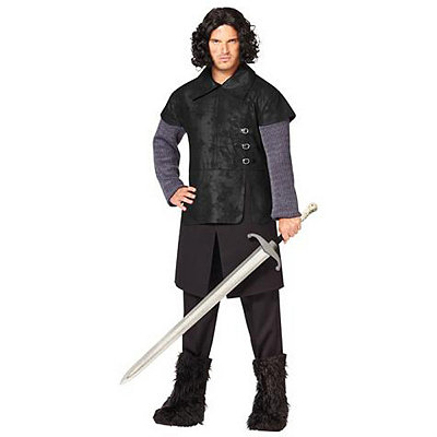 Game of Thrones Jon Snow Adult Plus Size Costume
