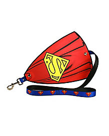 Superman Leash With Cape