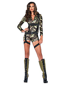 Adult Going Commando Military Costume