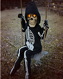Swinging Skeleton Boy
